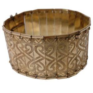 KJAG vintage art deco rolled gold bracelet